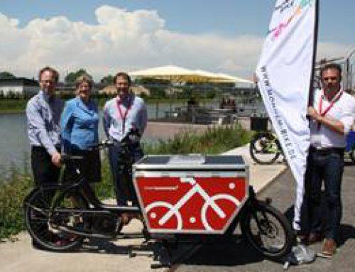 Mannheim: Urbane Logistik mit E-Lastenrädern